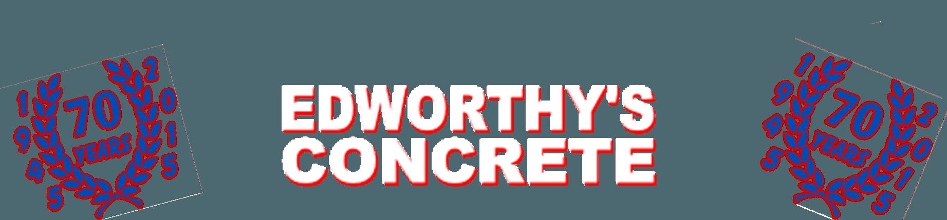 R.W.T Edworthy & Son - 70 Years of Devon COncrete - Edworthy's Concrete