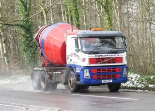 Edworthy's Concrete - Kerb Mix Concrete Delivery